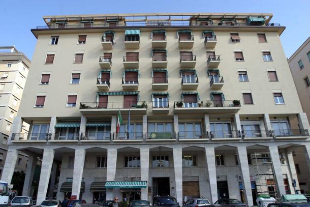 la sede della camera di commercio della spezia in piazza europa