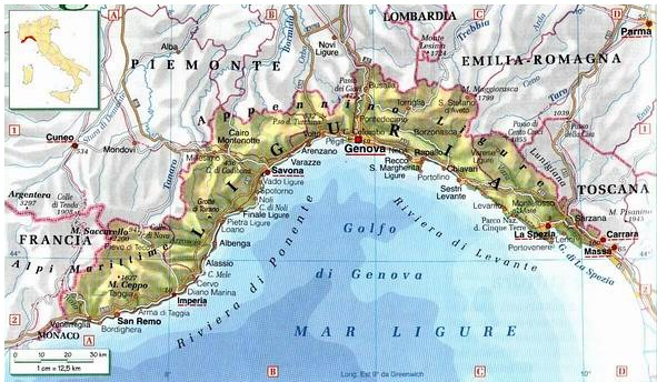 Cartina Regione Liguria.Demanio Marittimo Le Proposte Di Legge Della Regione Liguria Confesercentilaspezia